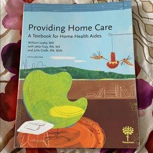 Providing home care : a textbook for home health